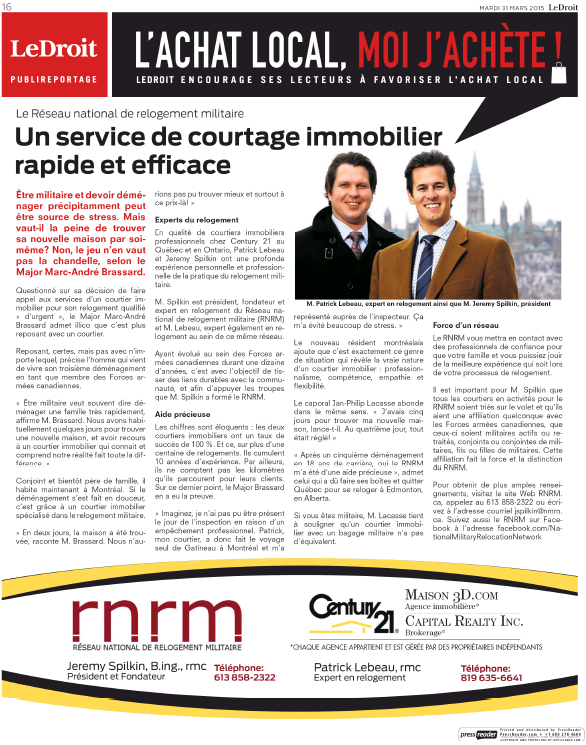 NRMN featured in LeDroit